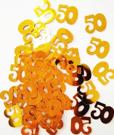 50th Birthday Confetti