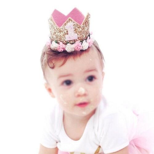 1st Birthday Crown