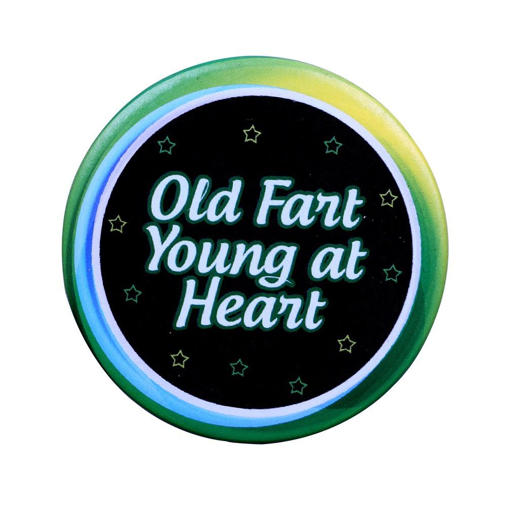 Old Fart Birthday Badge
