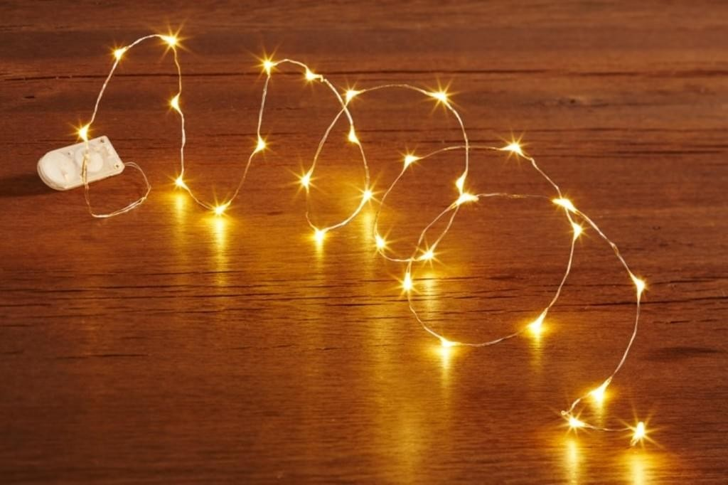 Fairy Lights - 5m Battery Operated