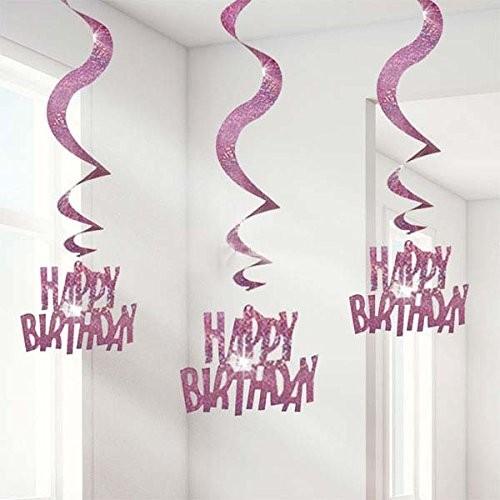 Happy Birthday Swirls (set of 6)
