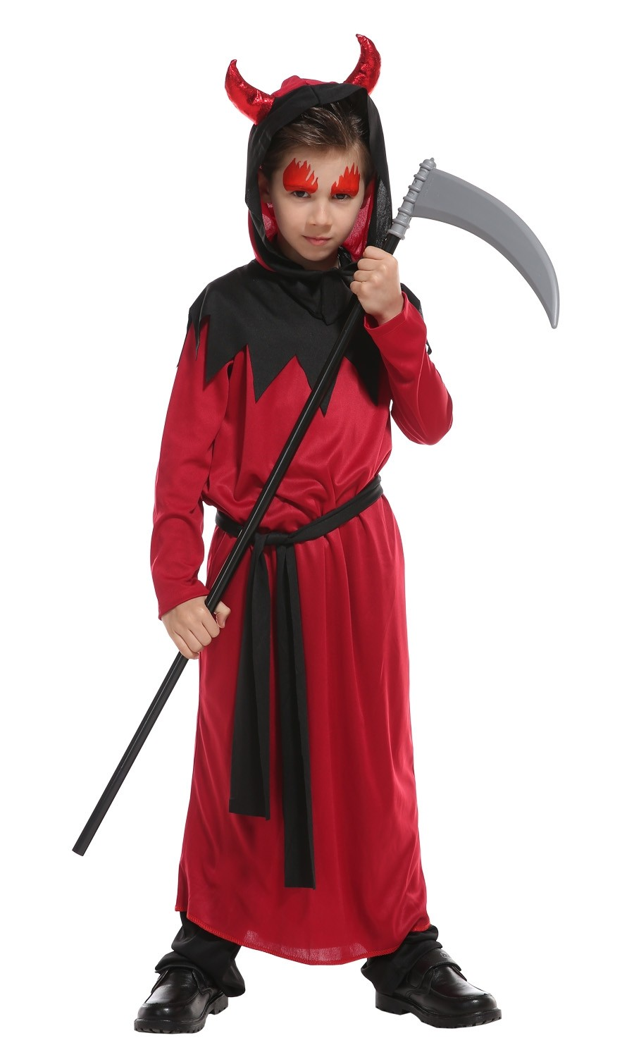 Red Devil Halloween Costume -  (Size L 5-7years)