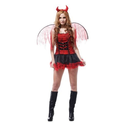 Sexy Devil Lady Costume