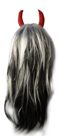 Devil Horn Wig