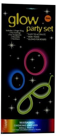 Glow Party Set (asst. colours)
