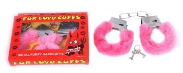 Fur Love Cuffs( Pink)