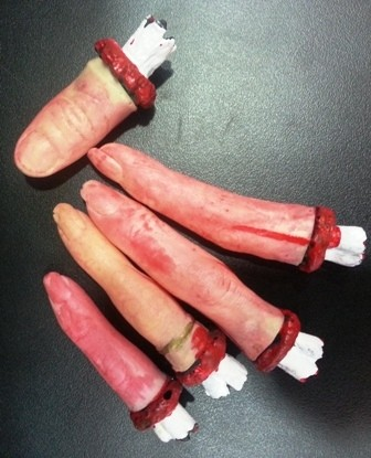 Bloodied Fingers