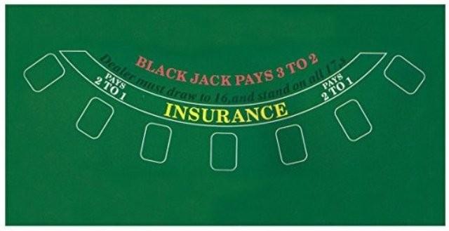 Black Jack Mat