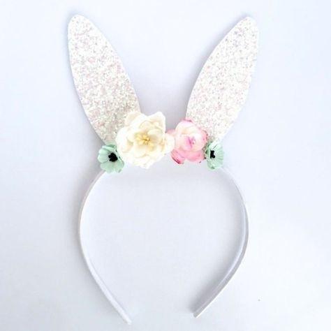 Bunny Glitter Headband