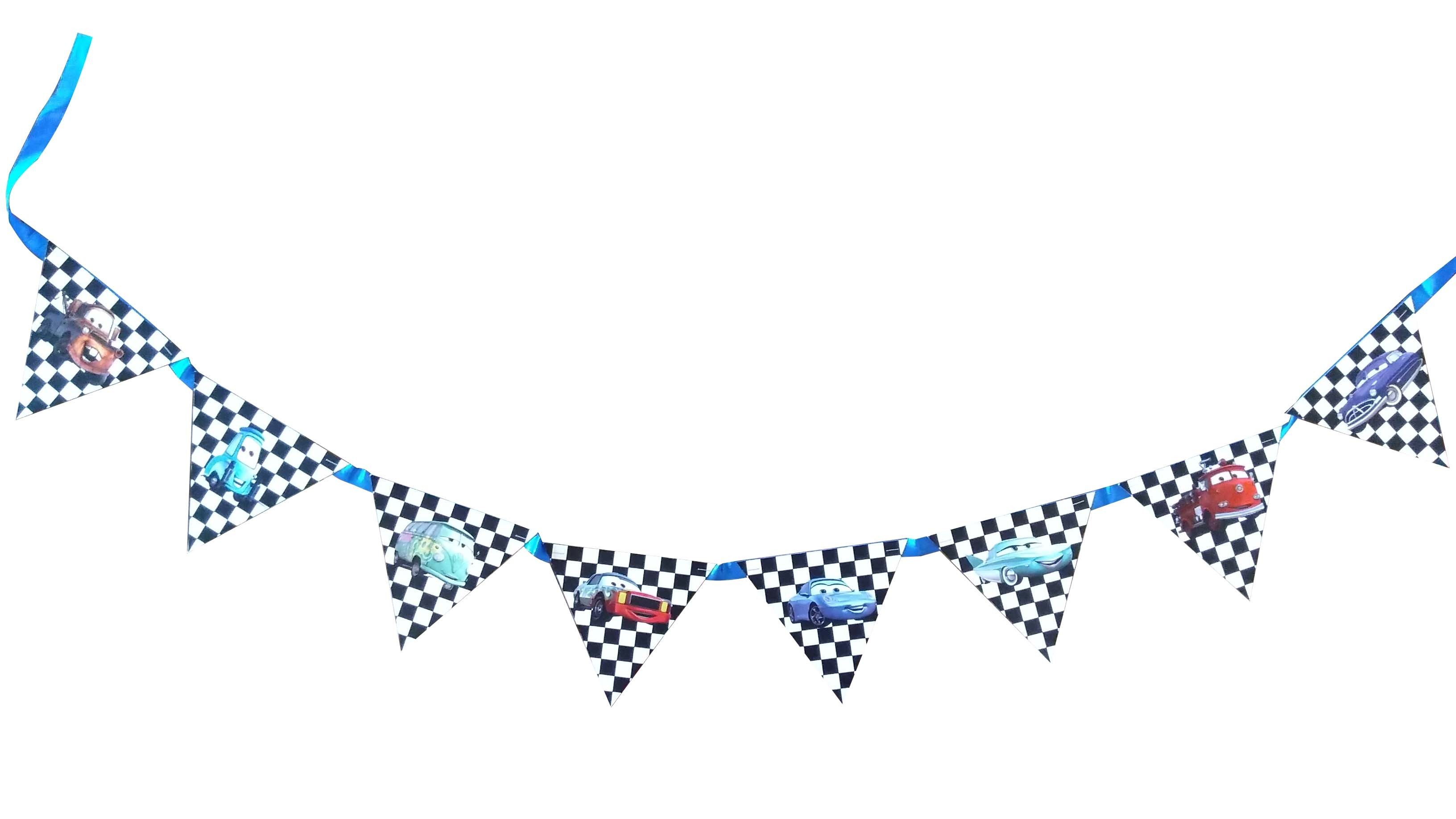 Car Triangular Bunting