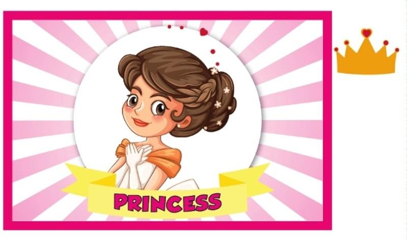 DIY CROWN  the princess game
