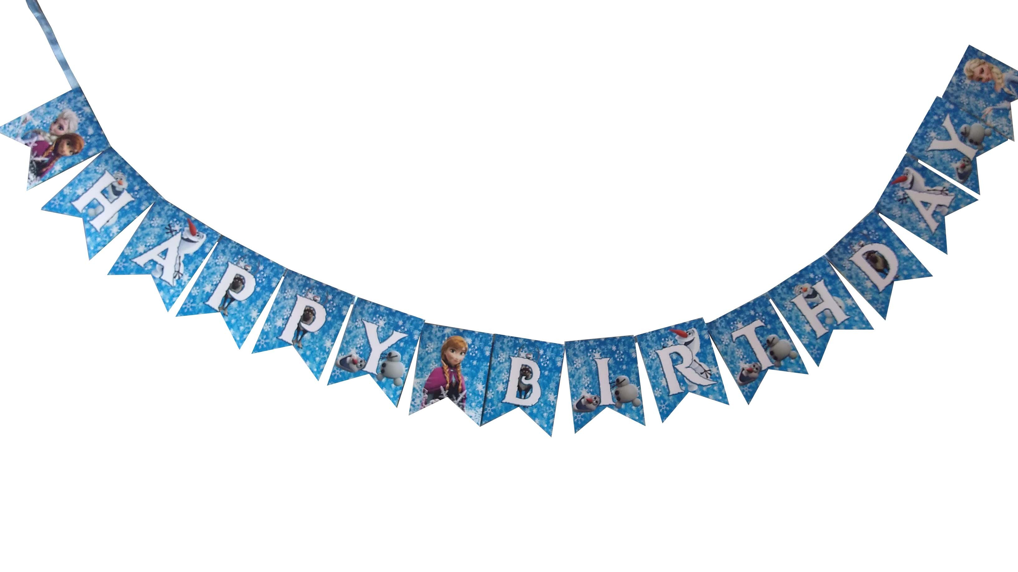 Frozen Happy Birthday Bunting