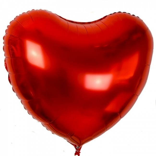 Heart Red  Foil Balloon 22 Inch