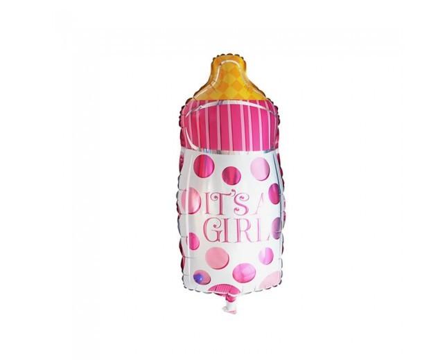 It's  a Girl Bottle shape foil balloon 24''