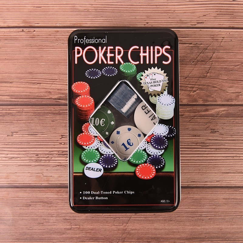 Poker Chips 100pc