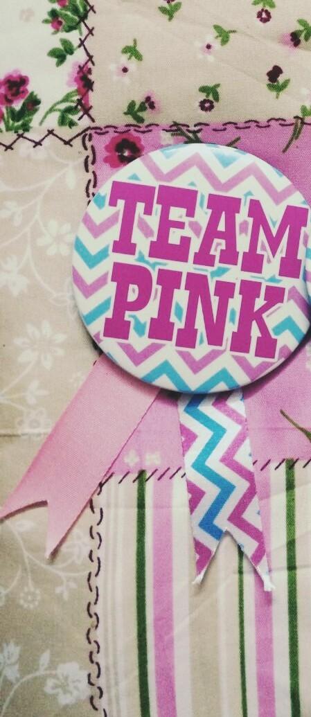 Team Pink  Badge