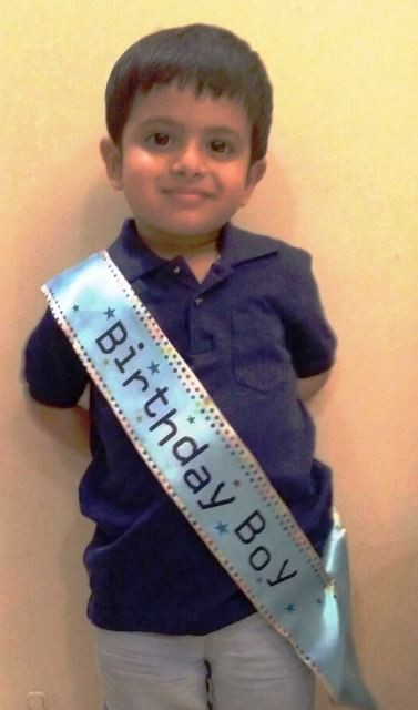 Birthday Boy Baby Sashe