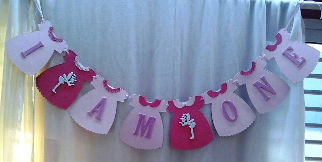 I Am One Pink Bunting