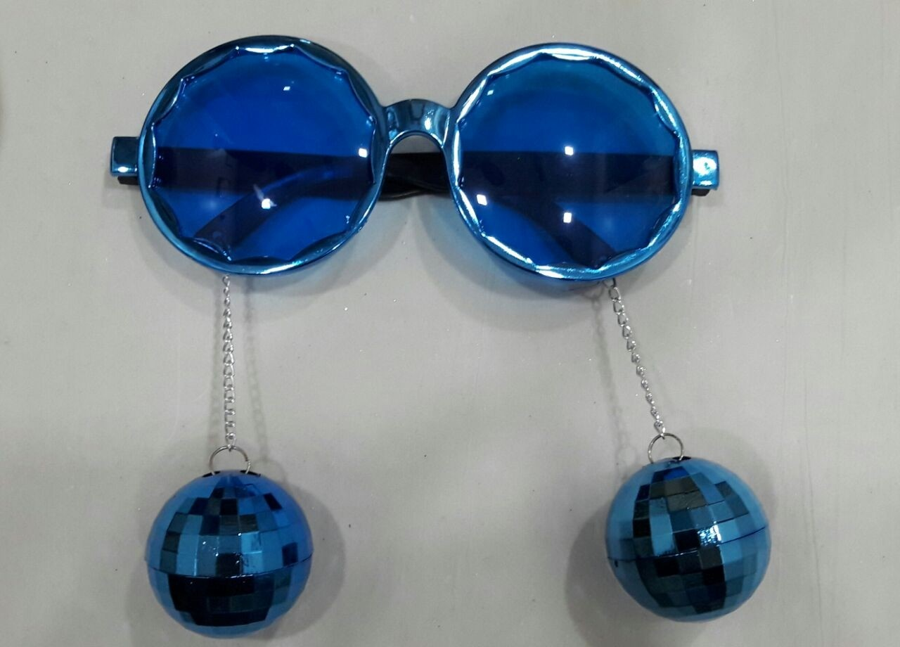 Eyeglasses - Disco Ball Hanging ( Assorted Colors )
