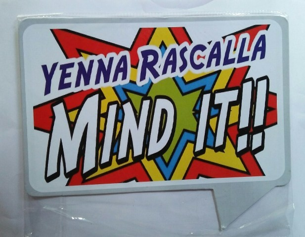 Yenna Rascalla Photo Booth Props