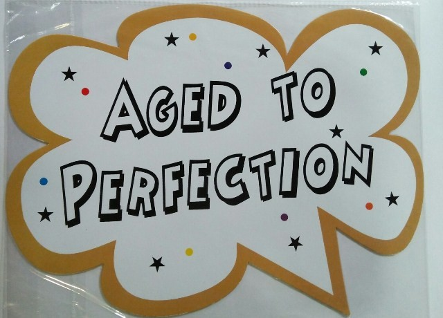Aged To Perfection Photo Booth Props