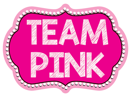 Team Pink Photo Booth Prop