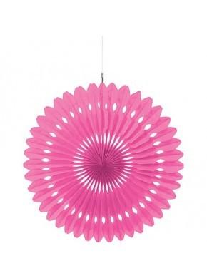 Pink Paper Fan Decoration ( set of 3 ) 15''