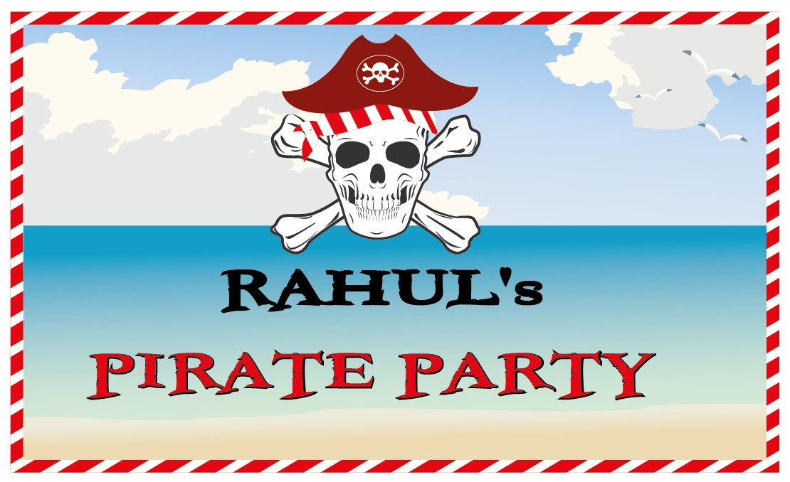 Pirate Party Banner