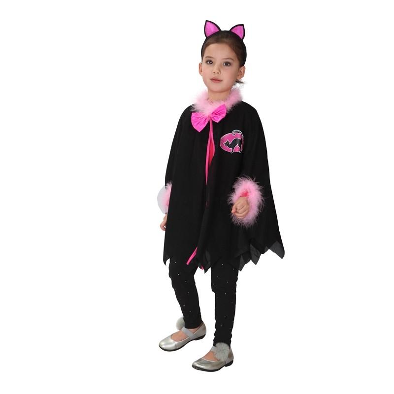 be26d181972 Cat Girl Halloween Costume - Medium Size (5-7age)