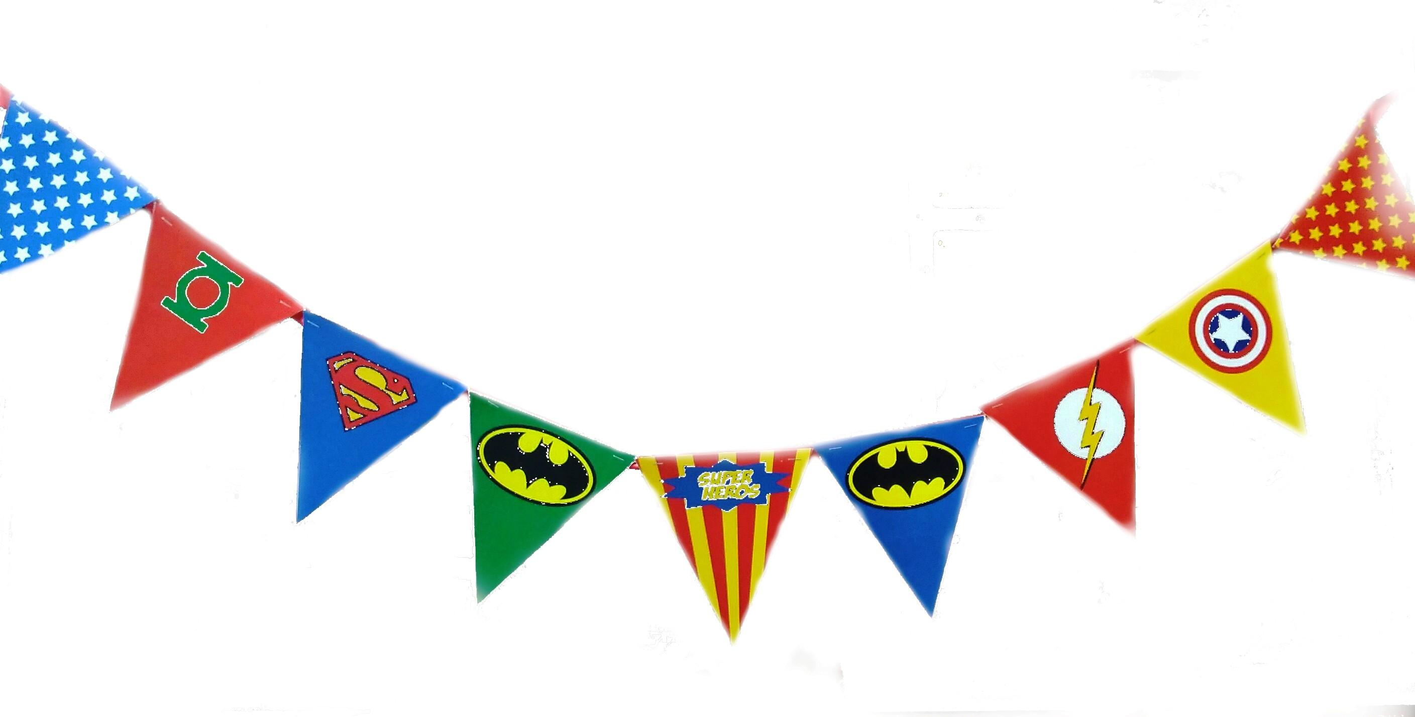 Super Heroes Bunting