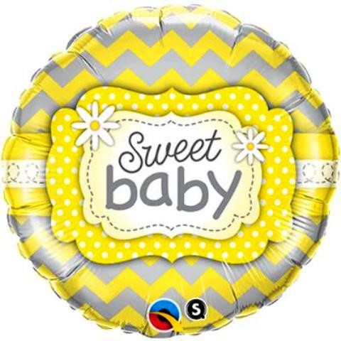 Sweet Baby Foil Balloon 18''