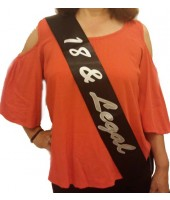 18th Birthday Sash