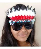 Red Indian eyeglasses