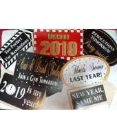 2019 Happy New Year  (Set of 7)