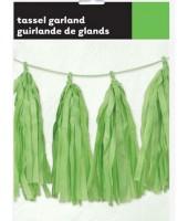 Green Decorative Tassel
