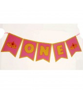 One Pink Banner