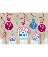 Boy Or Girl Swirls set (set of 12)