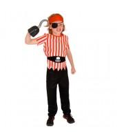 Pirate Child Costume ( 8-10 Age )