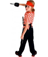 Pirate Child Costume ( 5-8 Age )