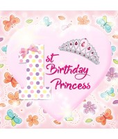 1st Bday Princess Banner