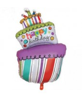 3 tier cake shape foil balloon 30''