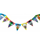 Super Heroes Character Bunting