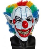 Scary Clown Halloween Mask - Super Premium Quality