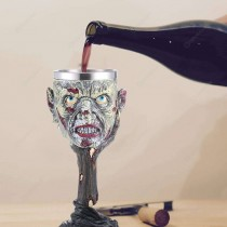 Wine Goblet - Halloween Ghost