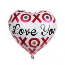 XOXO Love You Foil Balloon 18''