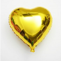 Heart Gold Foil Balloon  22 inch