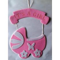 Baby Pram Hanging - Pink