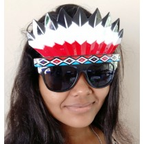 Red Indian eyeglasses