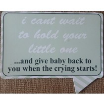 I Cant Wait To Hold Your Little One...