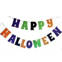 Felt Happy Halloween String Decoration